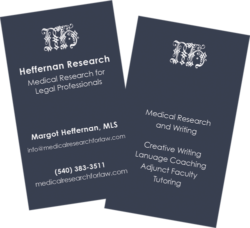 Heffernan Research - Medical Research for Legal Professionals