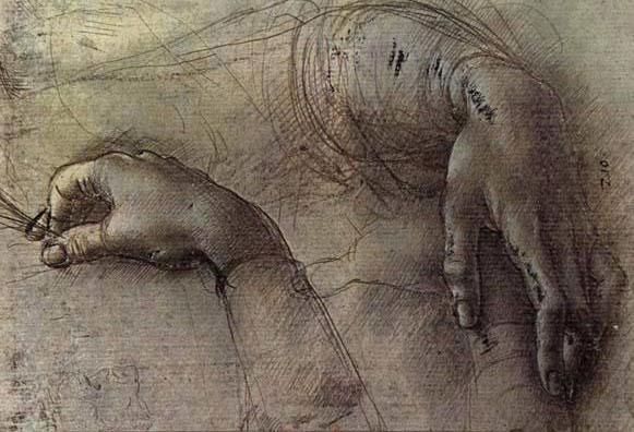 Leonardo da Vinci, Study of a Woman's Hands