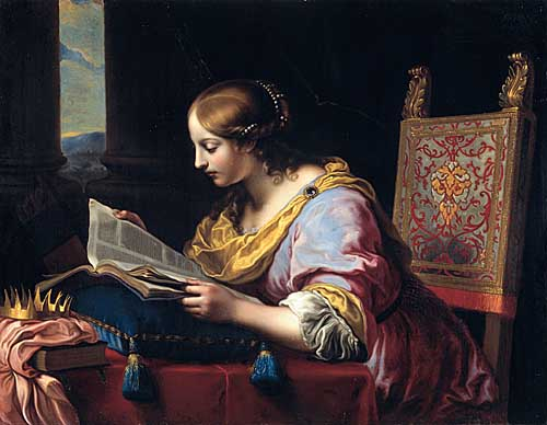 Onorio Marinari, Saint Catherine of Alexandria